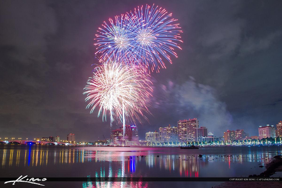 Flagler Beach Fireworks New Years