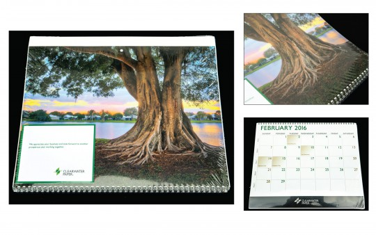 Clearwater Paper Calendar for 2016
