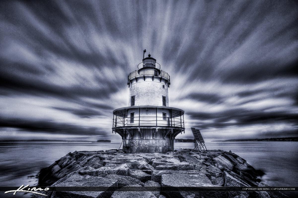 Spring Point Ledge Lighthouse Portland Maine