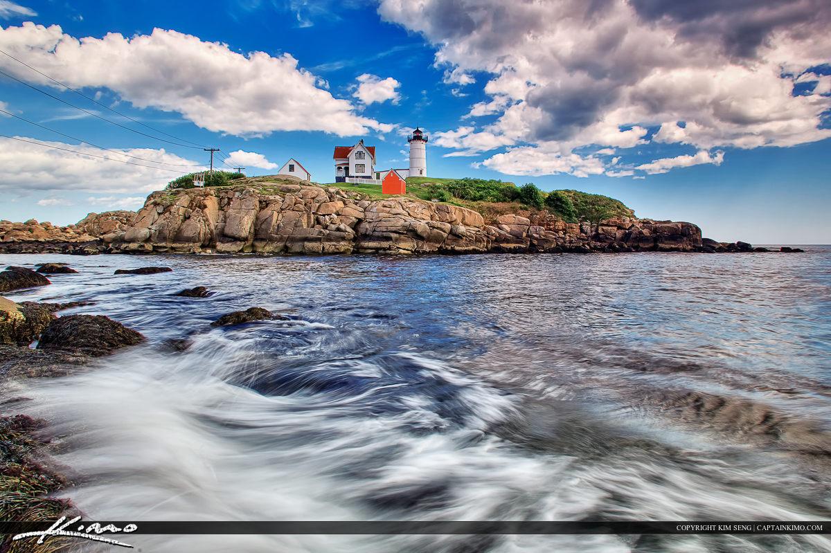 Nubble Lighthouse Cape Neddick York Maine