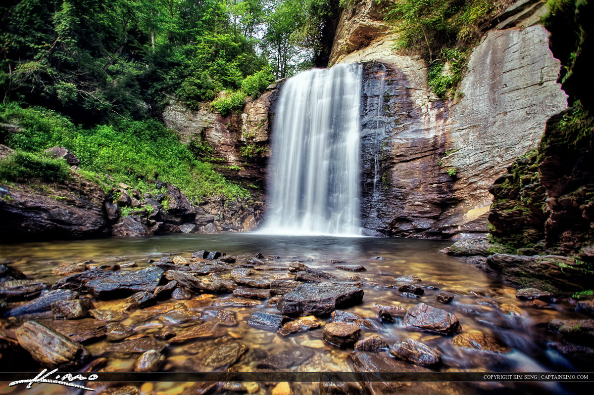 Looking Glass Falls North Carolina Blue Ridge Parkway