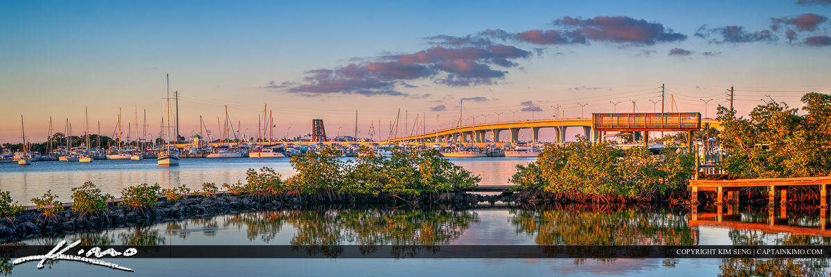 Staurt Florida Roosevelt Bridge St Lucie River