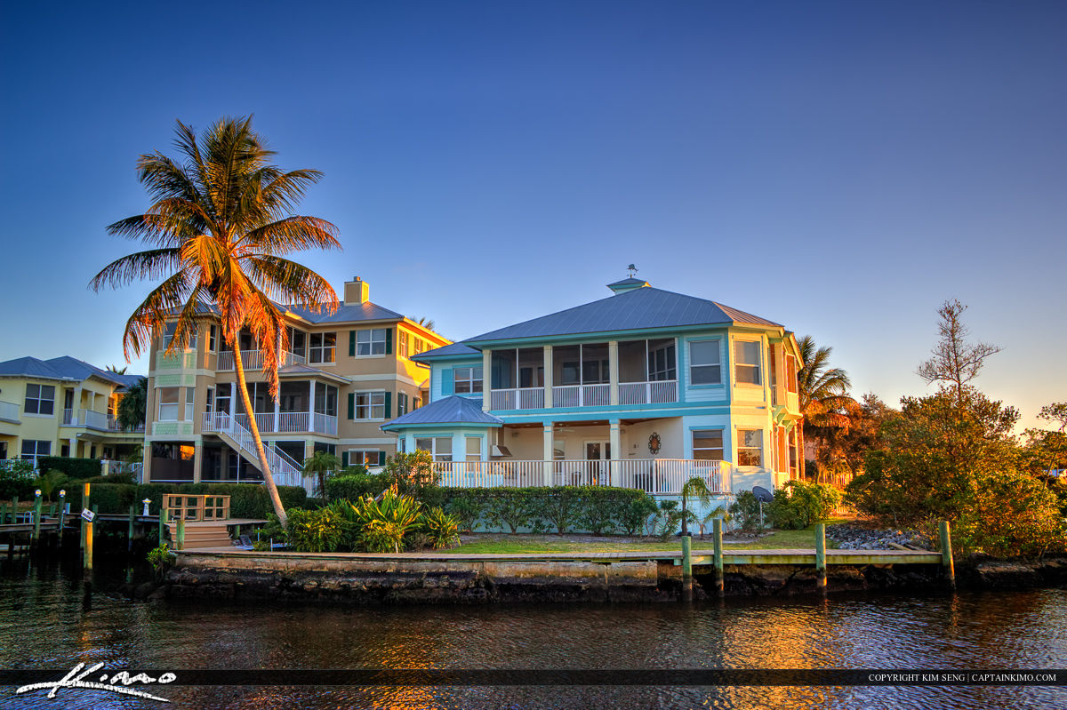 Waterfront Property Home Stuart Florida Martin County