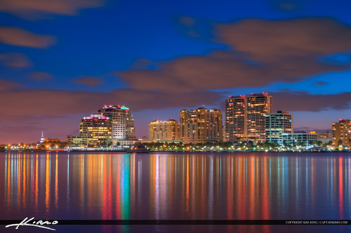 West Palm Beach Skyline Buildings