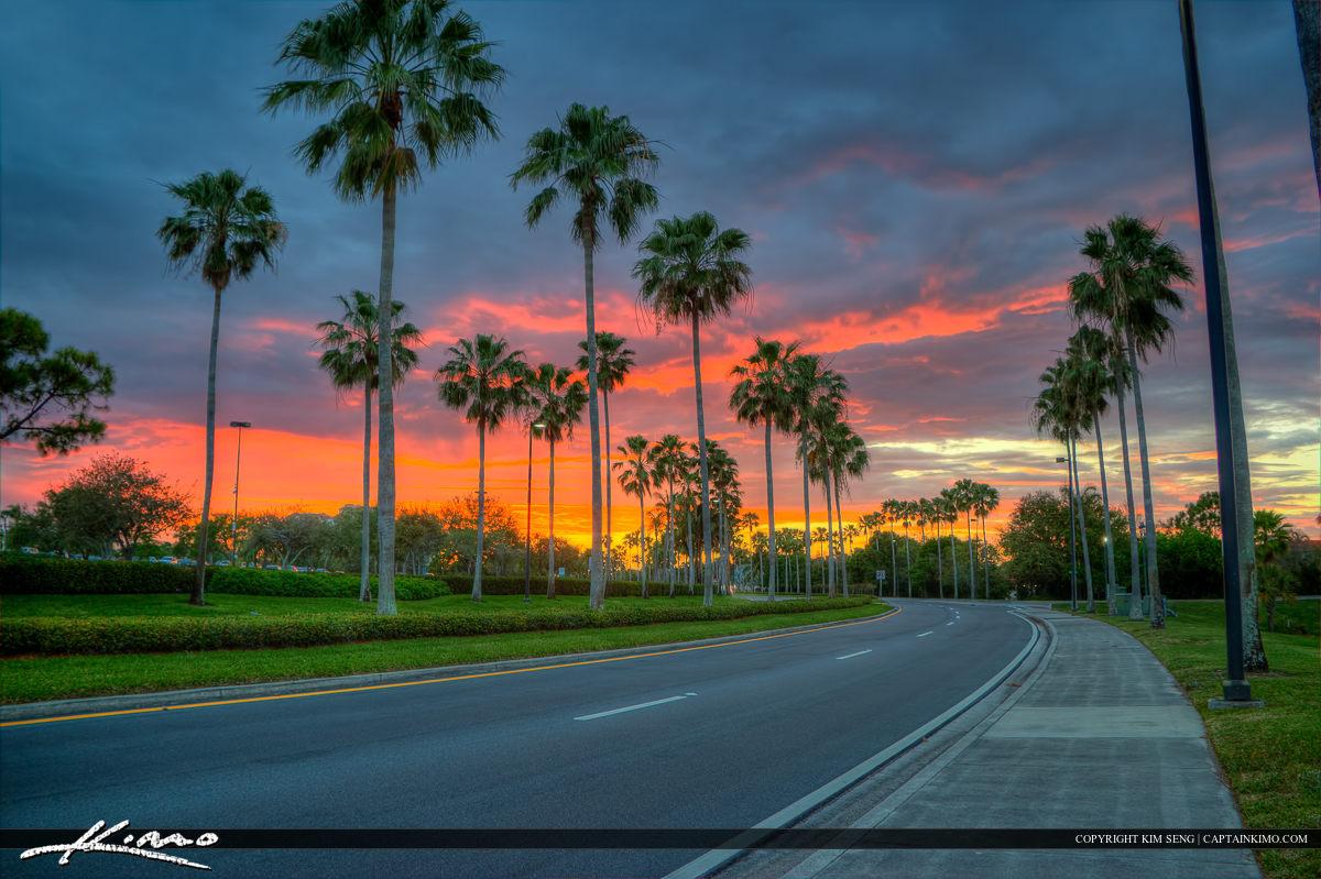Palm Beach Gardens Sunset Gardens Mall