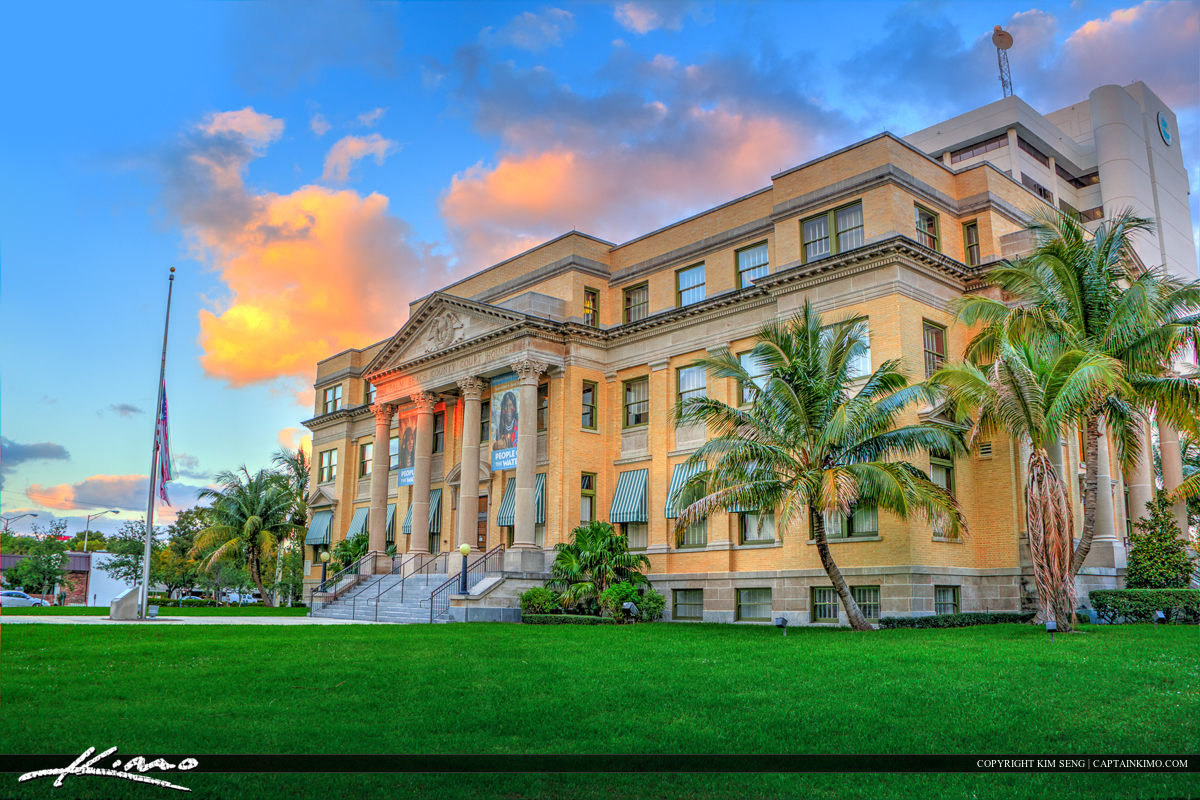 Old Historic Courthouse West Palm Beach
