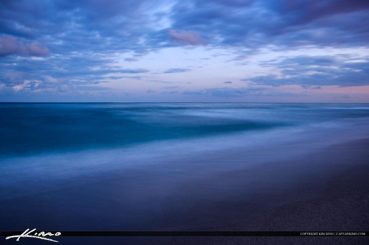 Boca Raton Florida Ocean at South Beach Park