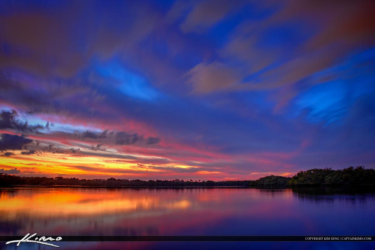 Lake Reflection Singer Island MacArthur State Park