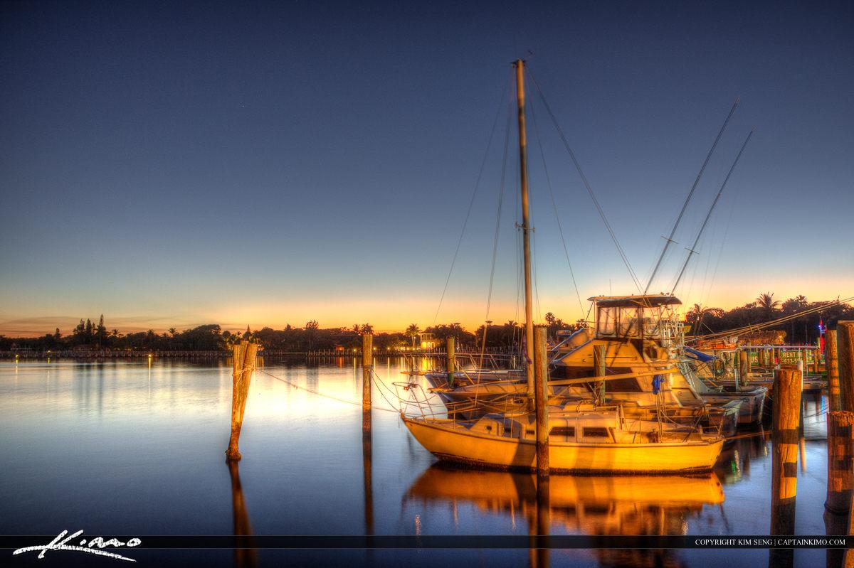Lantana Sailboat at Marina
