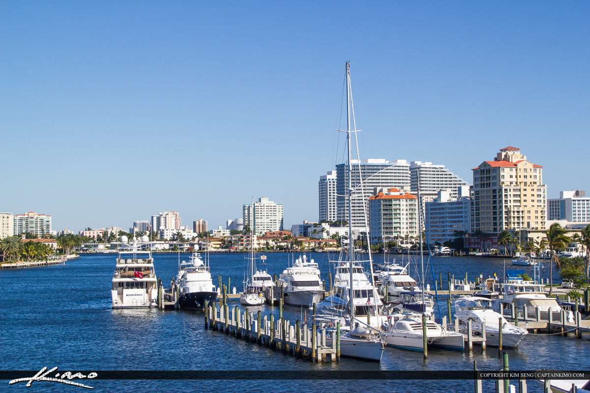 Fort Lauderdale Boat Dock Marina