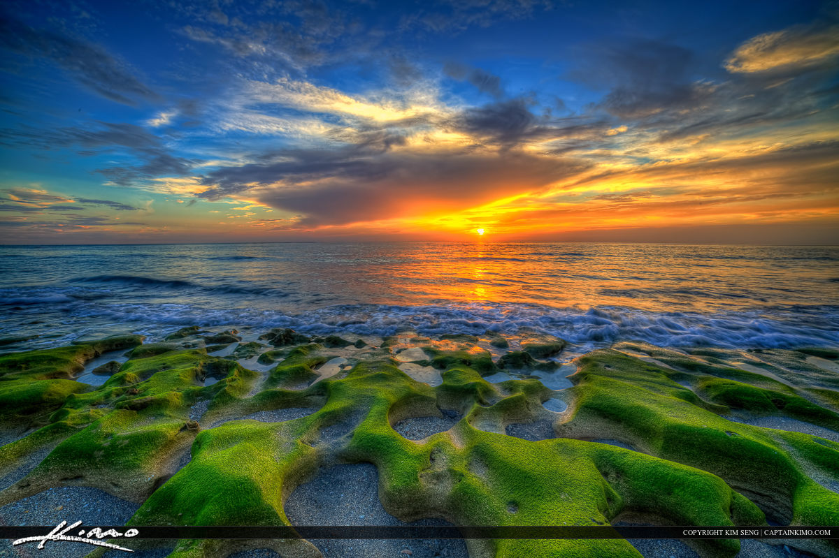 Glorious Breathtaking HDR Photography Sunrise