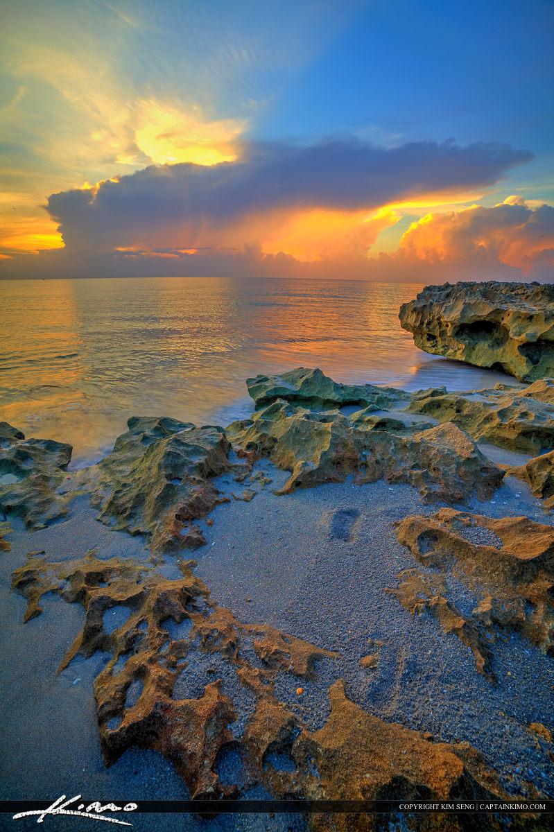 Sunrise Stuart Beach Florida