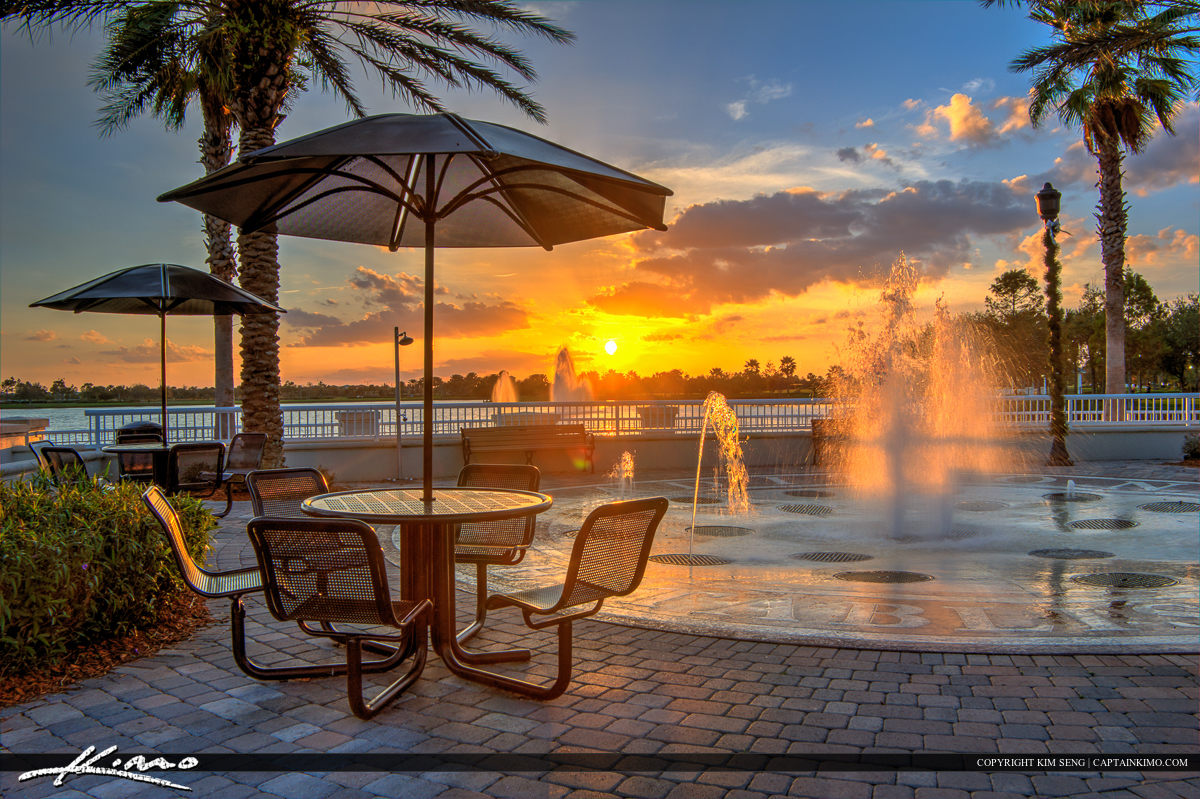Tradition Square Sunset Port St Lucie