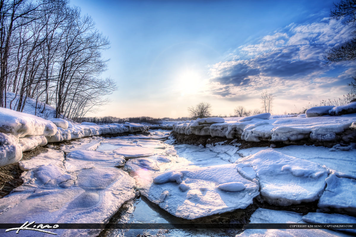 HDR Photography Portland Maine Winter 2009