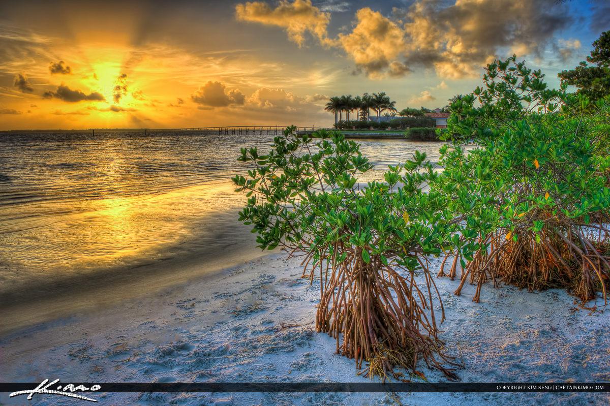 Sunrise Indian River Lagoon Jensen Beach Florida