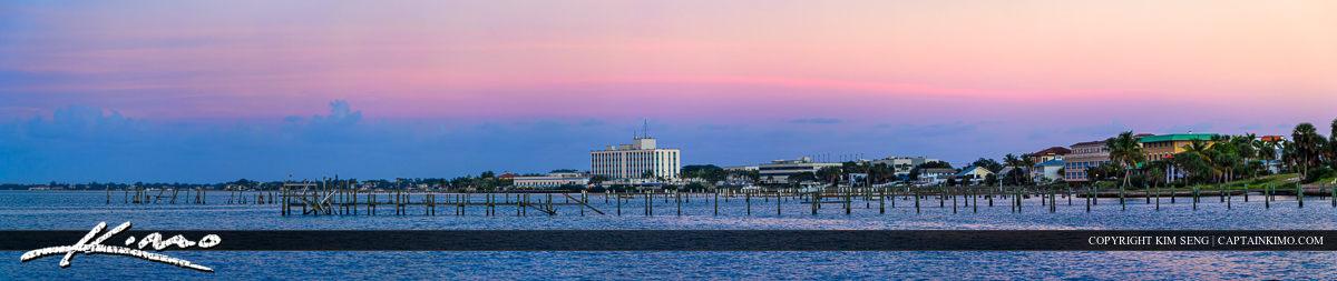 St Lucie River Stuart City Florida