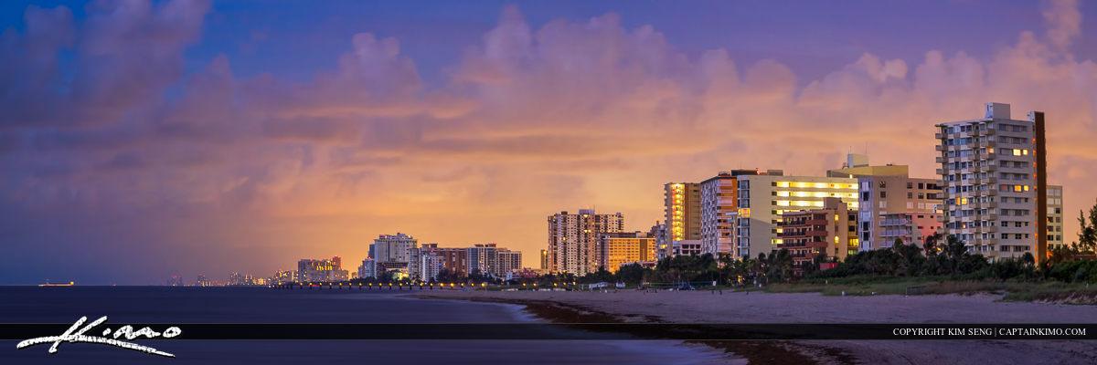 Pompano Beach Condo Beach Skyline