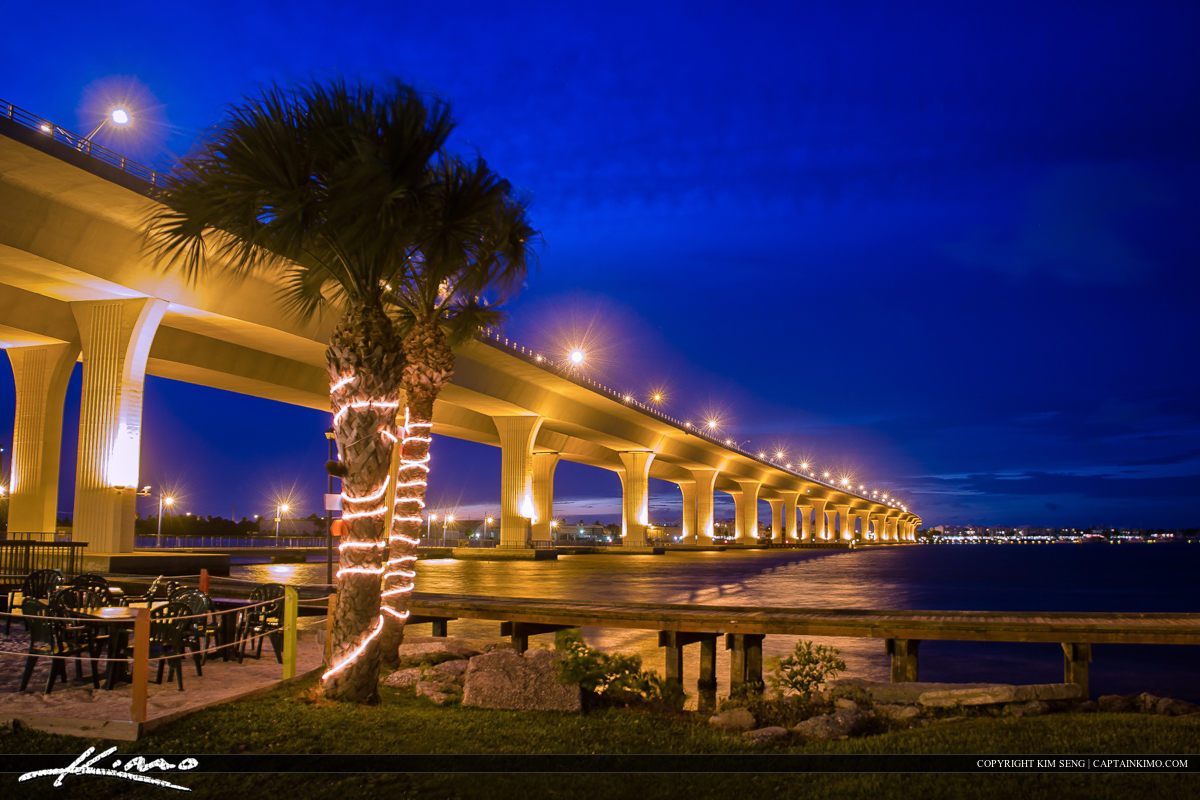 Roosevelt Bridge Martin County Stuart Florida