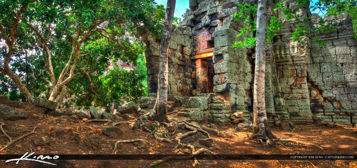 Phnom Banan Temple Ruins Battambang Cambodia