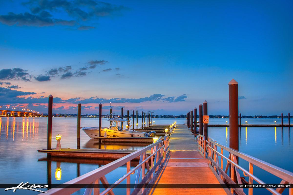 St Lucie River Marina Stuart Florida Martin County