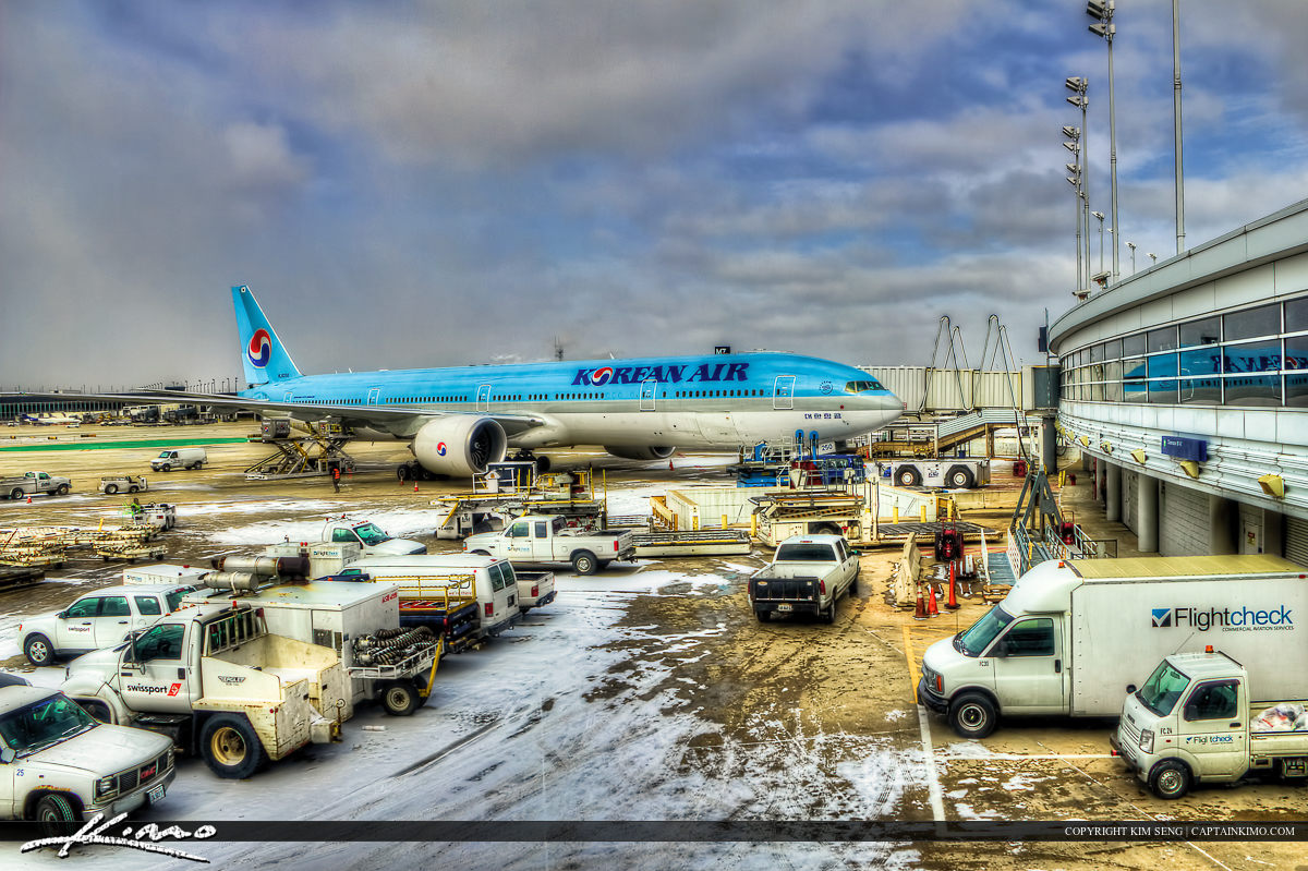 The 20 Hour Flight Begins from Chicago to Hong Kong to Bangkok