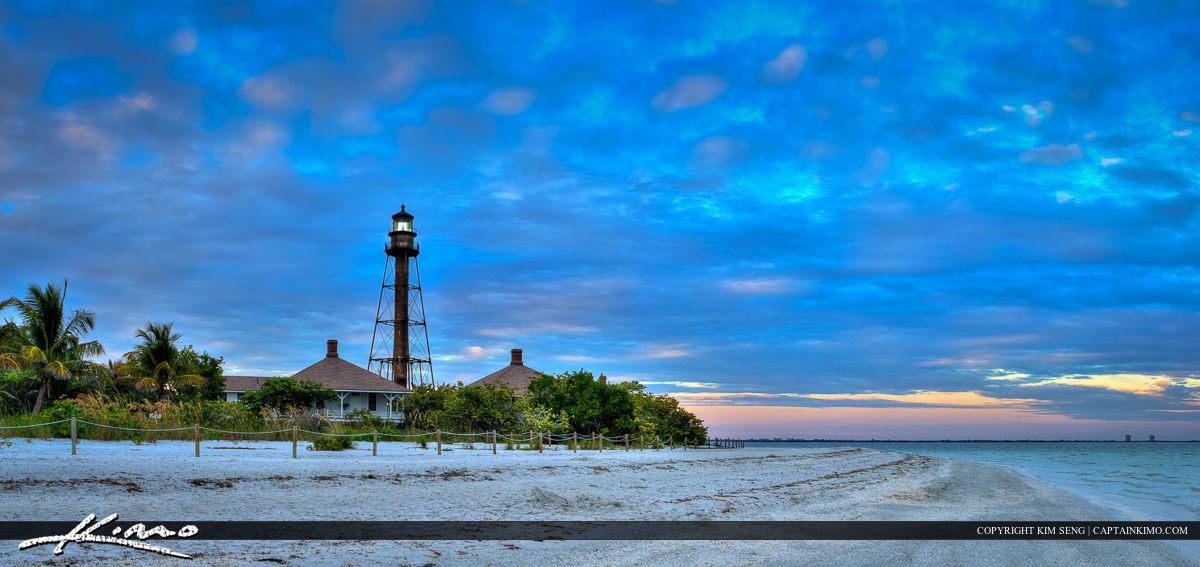 Sanibel Island Lighthouse Gulf Coast Florida
