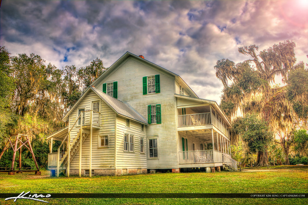Old Historic House from Orange City Florida