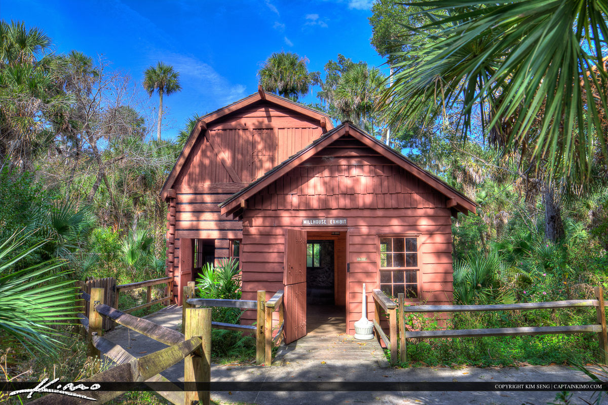Juniper Springs Florida Mill House