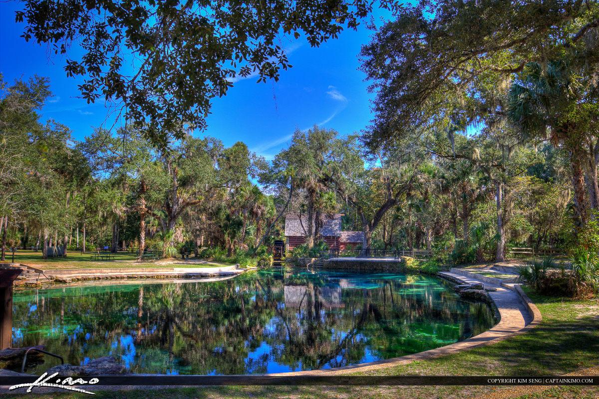 Juniper Springs Florida Blue Water