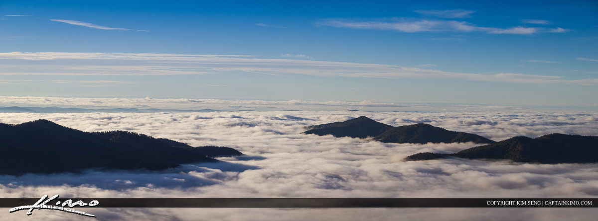 Above the Clouds Mountain View at Asheville Blue Ridge Parkway