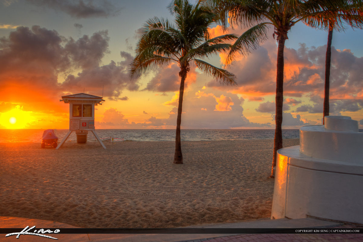 Fort Lauderdale Beach Park Sunrise Broward County