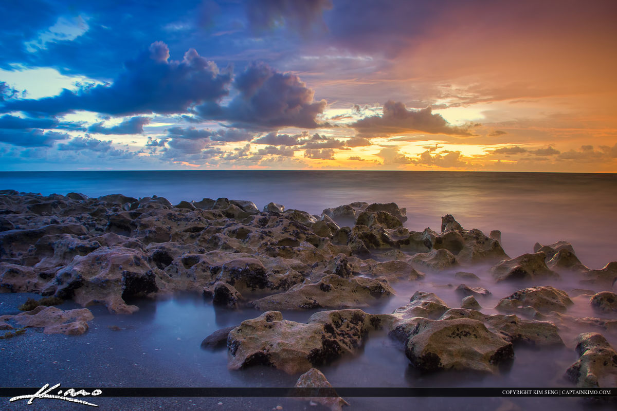 Blowing Rocks Color in the Sky Jupiter Florida