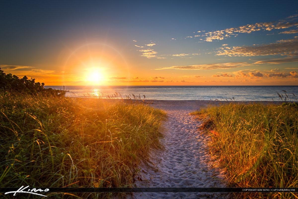 Boca Raton Sunrise at South Inelt Beach