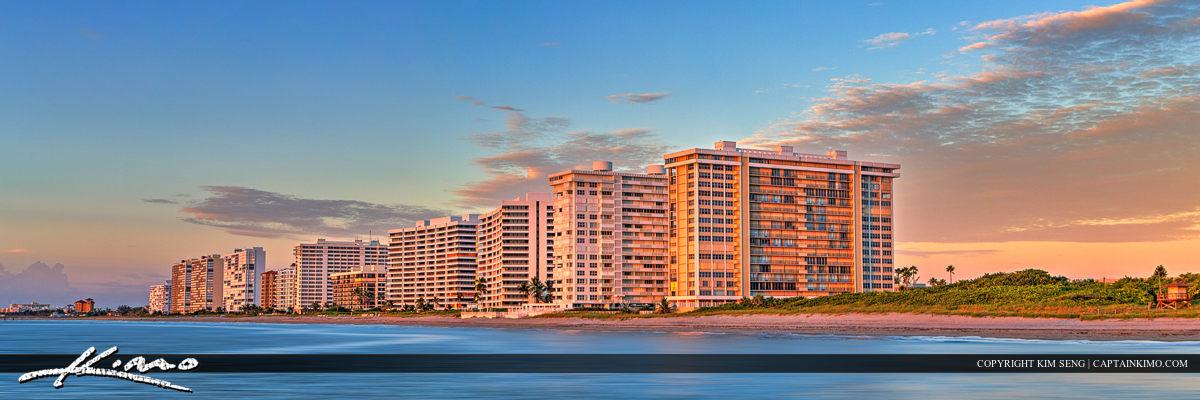 Boca Raton Condos Along the Beach