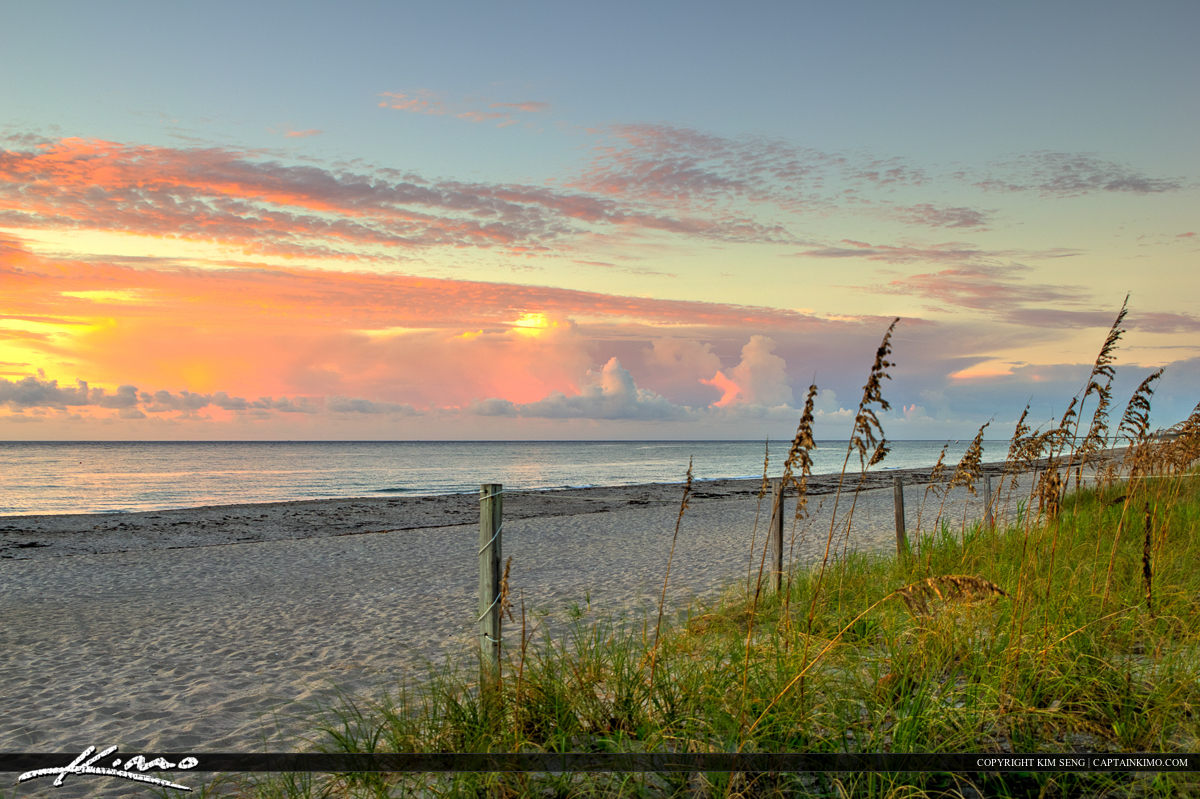 Boca Raton at the Beach During Sunrise