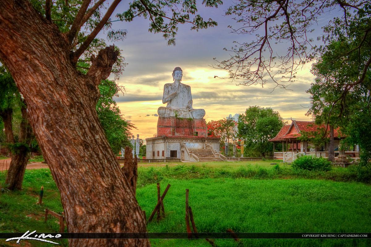 Budda Statue at Phnom Ek Battambang