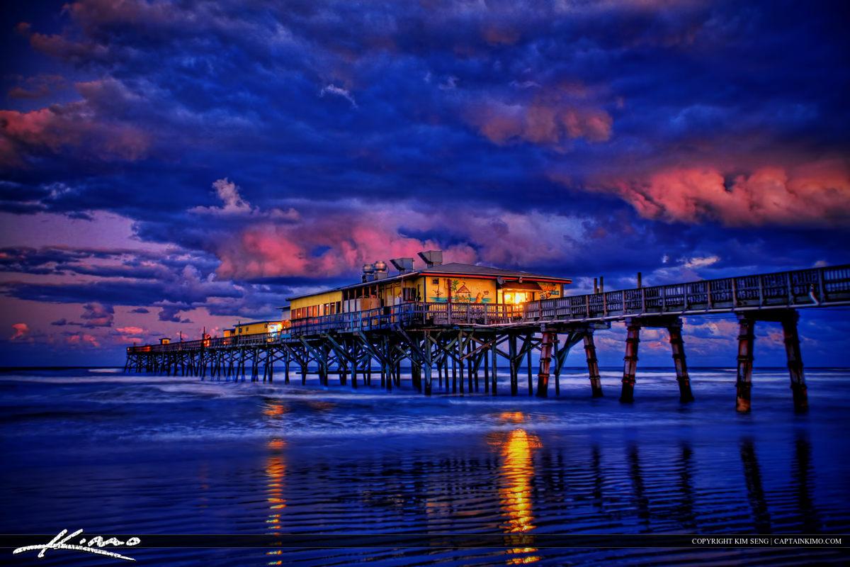 Sunglow Fishing Pier Sunset 2-3