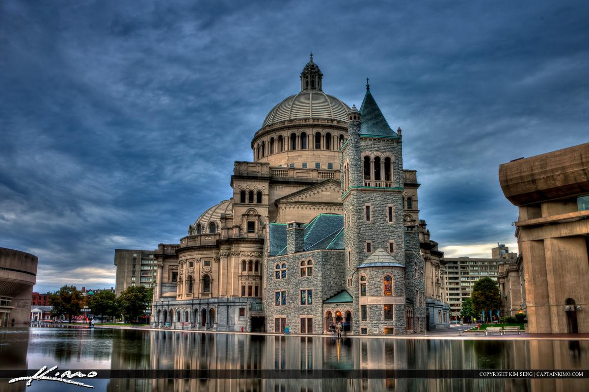 First Church of Christ Scientist Downtown Boston Massachusetts