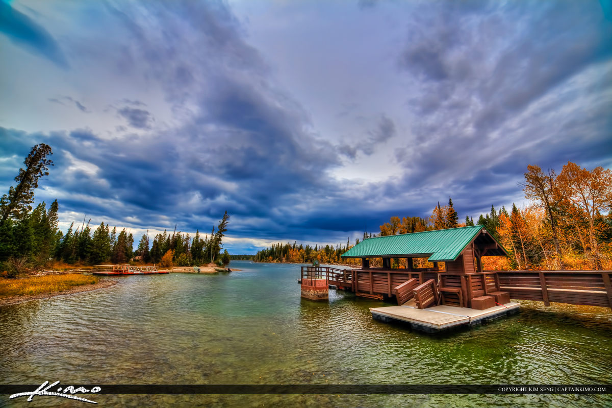 Jenny Lake Boat Dock at Grand Teton National Park