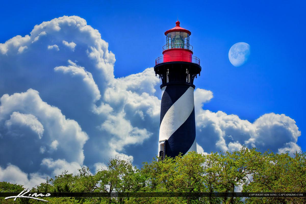 St Augustine Lighthouse Florida Postcard