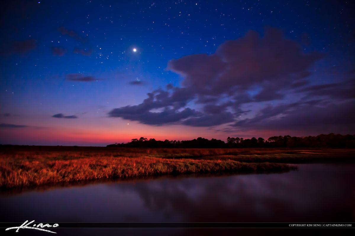 Cedar Key Florida Under the Stars