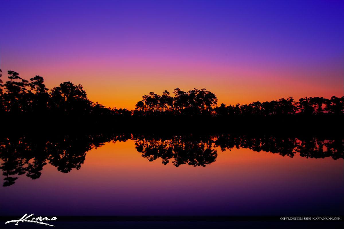 Long Pine Key Lake Early Morning Colors
