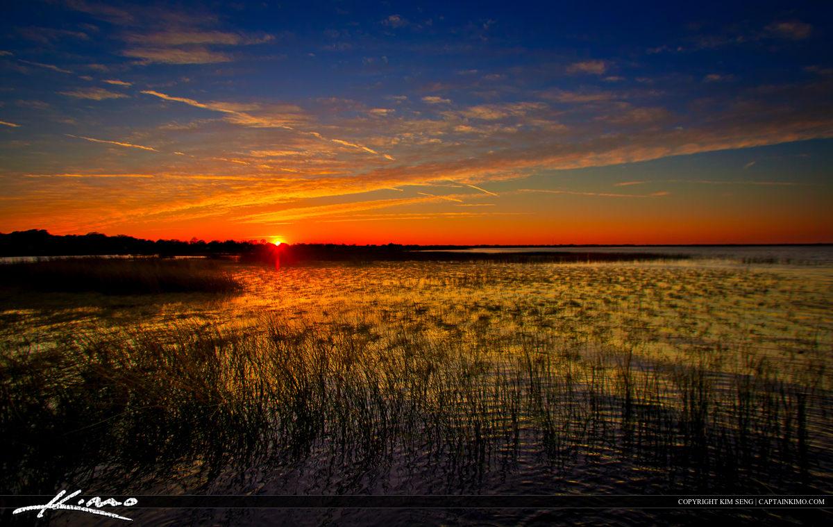 Sunset East Lake Tohopekaliga St Cloud Florida