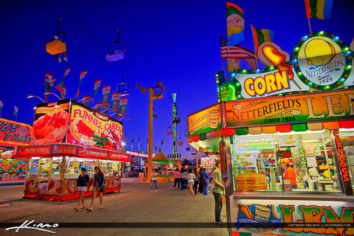 South Florida Fair Full of Colors