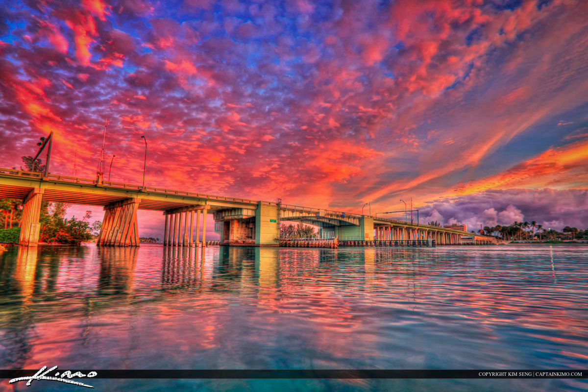US1 Bridge Crossing Intracosatal at Jupiter Florida