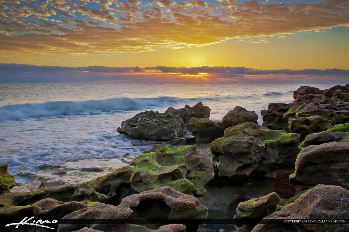 Sunrise Coral Cove Beach Park Jupiter Island
