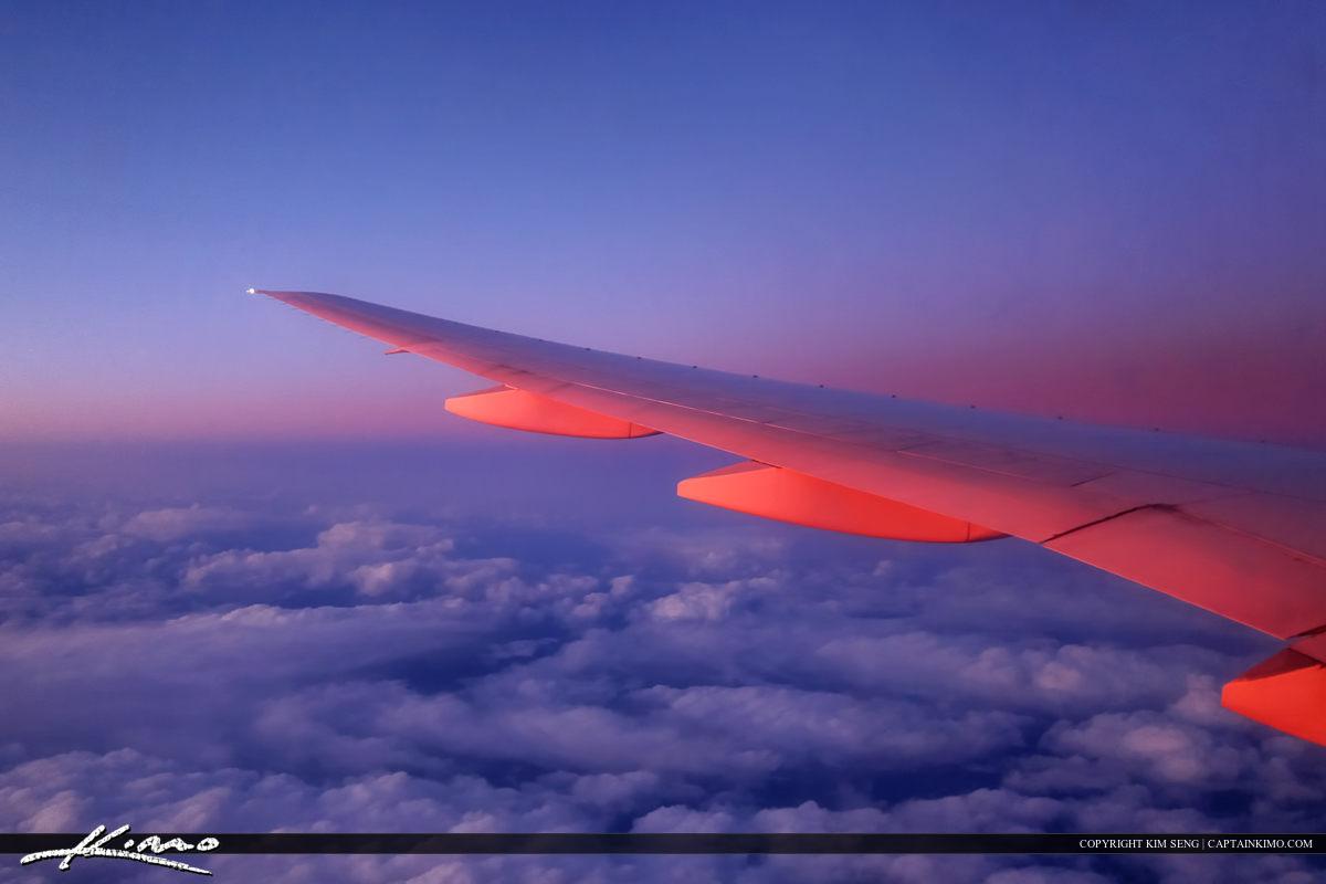 Aerial Photography Plane Window Asiana