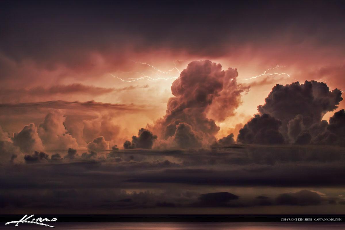 Lightning Storm Pseudo from Okeechobee Lake