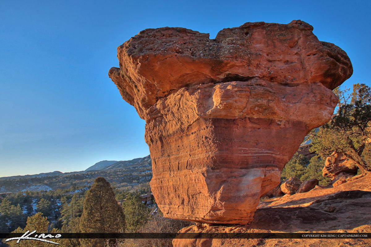 Garden of the Gods Balancing Boulder