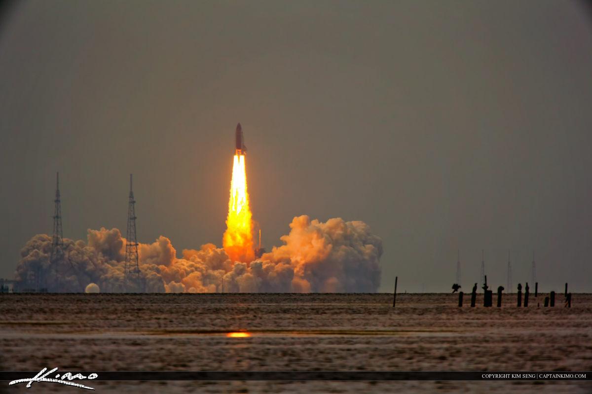 Space Shuttle Launch Atlantis Nasa Final Mission